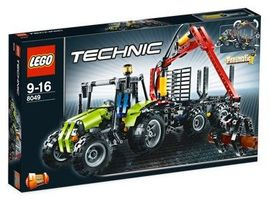 Set 8049 - Farm: Tractor with Log Loader- Nieuw