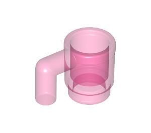 3899-50-G Kopje Trans- donker roze gebruikt loc