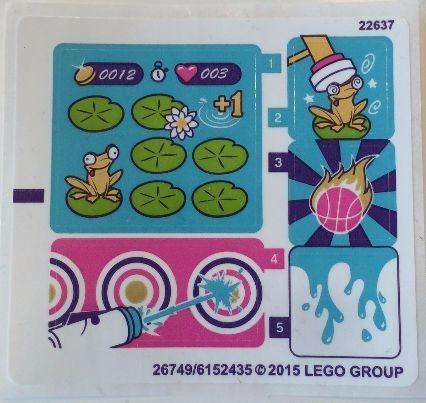 41127stk01 STICKER FRIENDS Amusement Park Arcade NIEUW *0S0000