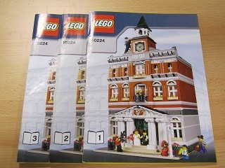 INS10224-G 10224 BOUWBESCHRIJVING- Town Hall gebruikt *