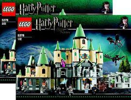 INS5378-G 5378 BOUWBESCHRIJVING- Harry Potter Howarts kasteel- 3e uitvoering NIEUW *