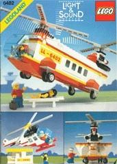 INS6482-G 6482 BOUWBESCHRIJVING- Rescue Helicopter gebruikt *LOC M2