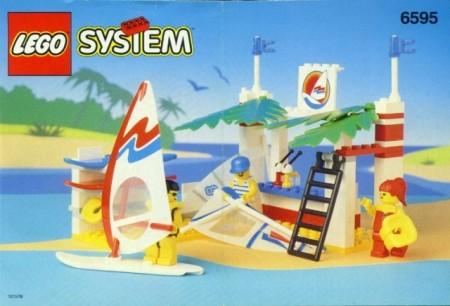INS6595-G 6595 BOUWBESCHRIJVING- Surf Shack gebruikt *LOC M3