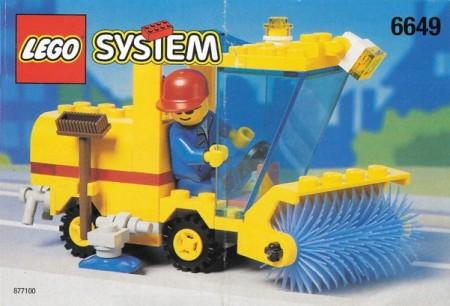 INS6649-G 6649 BOUWBESCHRIJVING- Street Sweeper gebruikt *LOC M3