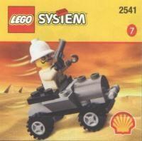 Set 2541 - Adventures: Adventurer Car- Nieuw