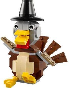 Set 40091 - Holiday: Thanksgiving Turkey- Nieuw