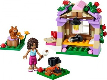 Set 41031-G - Friends: Andrea's Mountain Hut D/H/97%- gebruikt