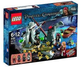 Set 4181 - Pirates of the Caribbean: Isla de la Muerta- Nieuw