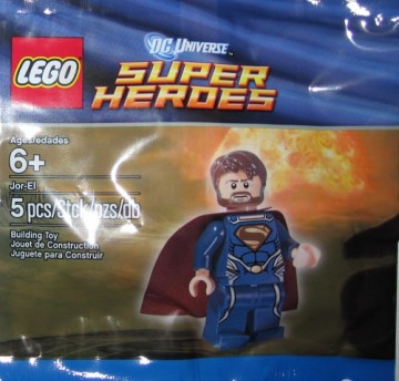 Set 6043754 - Super Heroes: Jor-El (polybag)- Nieuw
