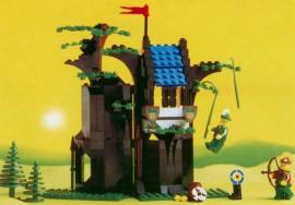 Set 6054-G - Kastelen/Ridders: Boswachters\ hut  H/97-100 Zie uitleg http://www.lossestenen.nl/info/sets-polybag-kwaliteit- Nieuw