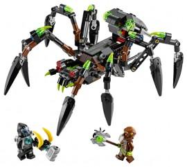 Set 70130 - Legends of Chima: Sparratus' Spider Stalker zonder doos- gebruikt