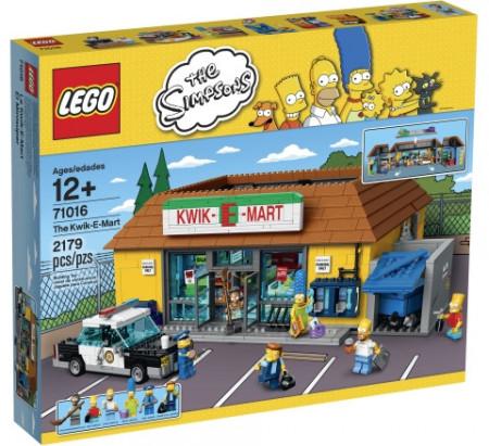 Set 71016 - The Simpsons: The Kwik-E-Markt Nieuw