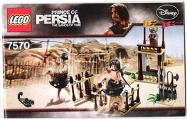 Set 7570 - Prince of Persia: The Ostrich Race- Nieuw