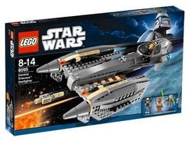 Set 8095 - Star Wars: General Grievous'Starfighter- Nieuw