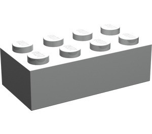 3001-66 Steen 2x4 grijs, lichtparel NIEUW *5K0000