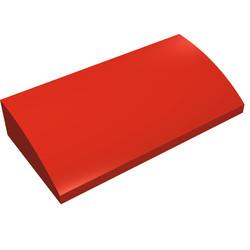 88930-5G Dakpan gebogen 2x4x2/3 geen noppen, MET bodemtubes rood gebruikt *1R028