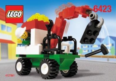INS6423-G 6423 BOUWBESCHRIJVING- Mini town truck gebruikt *LOC M2