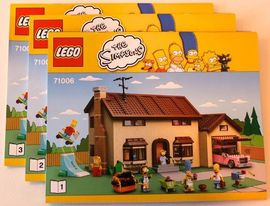 INS71006 71006 BOUWBESCHRIJVING- The Simpsons House NIEUW *