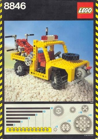 INS8846-G 8846 BOUWBESCHRIJVING- Tow Truck gebruikt *LOC M7