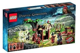 Set 4182 - Pirates of the Caribbean: The Cannibal Escape- Nieuw