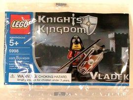 Set 5998 - Kastelen/Ridders: Vladek (polybag)- Nieuw