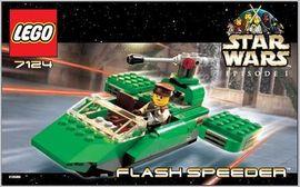 Set 7124 - Star Wars: Flash Speeder- Nieuw