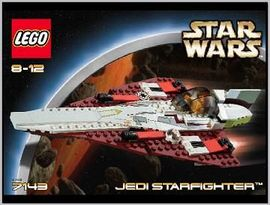 Set 7143 - Star Wars: Jedi Starfighter- Nieuw
