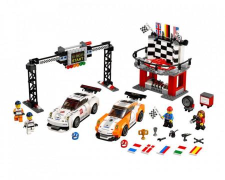 Set 75912 Porsche 911 GT Finish Line NIEUW