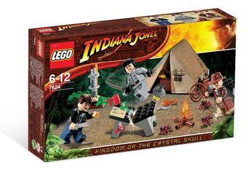 Set 7624-G - Indiana Jones: Jungle Duel D/H/C 97-100%- gebruikt