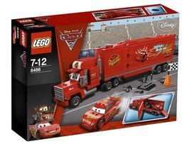Set 8486 - Cars: Mack's Team Truck- Nieuw
