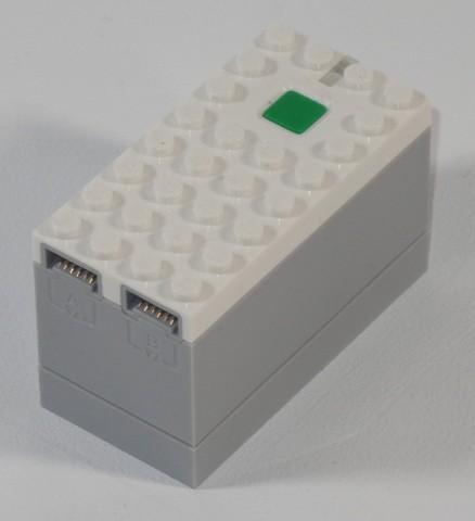28738c01-1 Batterijbox 9V PF voor batterijen VOOR BLUETOOTH (LET OP: PAKKETZENDING) Grijs, licht-blwachtig NIEUW loc