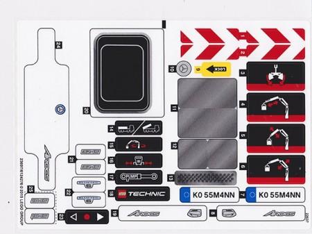 42043stk01 STICKER Mercedes Atrocs NIEUW *0S0000