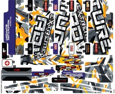 42069stk01 STICKER 42069 Extreme Adventure NIEUW *0S0000