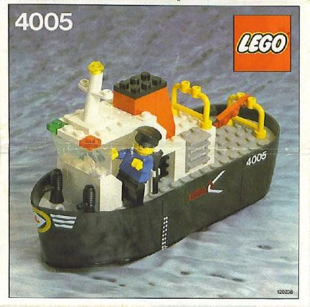INS4005-G 4005 BESCHRIJVING- Sleepboot gebruikt *LOC M1
