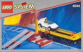 INS4544-G 4544 BOUWBESCHRIJVING- Car Transport Wagon with car gebruikt *