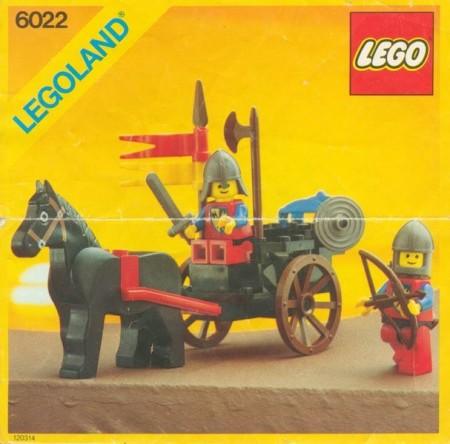 INS6022-G 6022 BOUWBESCHRIJVING- Lion Knights gebruikt *LOC M2