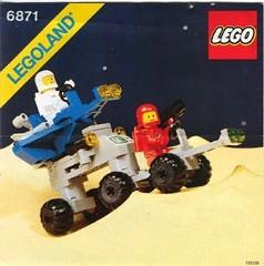 INS6871-G 6871 BOUWBESCHRIJVING- Star Patrol Launcher gebruikt *LOC M3