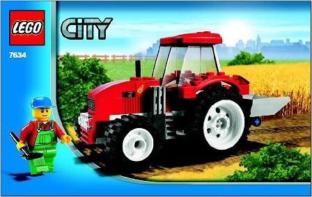 INS7634-G 7634 BOUWBESCHRIJVING- Tractor gebruikt *LOC M3
