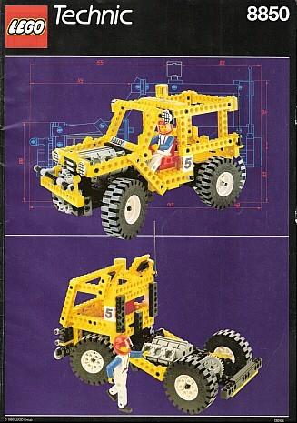 INS8850-G 8850 BOUWBESCHRIJVING- Rally Support Truck gebruikt *LOC M7