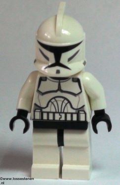 LEGO sw201 Star Wars: Clone trooper Clone Wars NIEUW loc