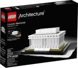 Set 21022 - Architecture: Lincoln Memorial- Nieuw