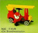 Set 3642-G - Fabuland: Fire Engine -/-/100%- gebruikt