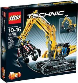 Set 42006 - Technic: Excavator- Nieuw