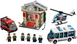 Set 60008-G - Town: Museaum Break-in- gebruikt