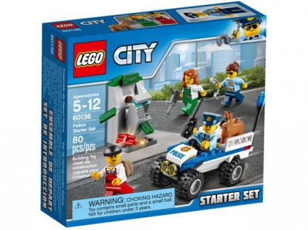 Set 60136 - Town: Politie starter set- Nieuw