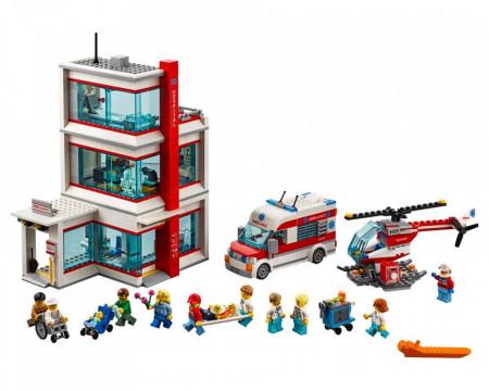 Set 60204-GB City Hospital gebruikt deels gebouwd *B036
