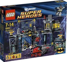 Set 6860 - Super Heroes: The Batcave- Nieuw
