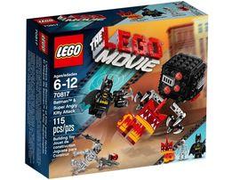 Set 70817 - The Lego Movie: Batman&Super Angry Kitten Attack- Nieuw