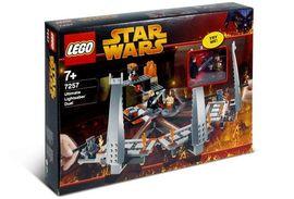Set 7257 - Star Wars: Ultimate Lightsaber Duel (licht minder goed)- Nieuw