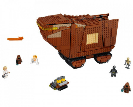 Set 75220-GB Sandcrawler gebruikt deels gebouwd *B036